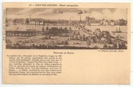 44 - NANTES Ancien - Panorama De Nantes - RG 35 - Nantes