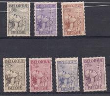 COB 377-383 * - Anituberculeux - Etat Impecable (voir Image) - Unused Stamps