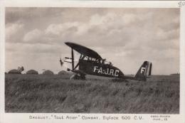 "AVION BREGUET ""TOUT ACIER"" COMBAT - BIPLACE 600 CV - 1914-1918: 1. Weltkrieg"