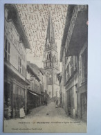 PARTHENAY  (Deux-Sèvres)  :  Grand'Rue Et  Eglise  St-LAURENT - Rohan