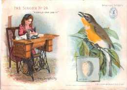 "Singer  Sewing \""American Singers\"" Child - Advertising"