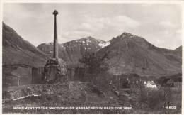 C1950 MONUMENT TO THE MCDONALDS MASSACRED IN GLEN COE 1692 - Scotland