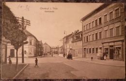ALLEMAGNE.OHRDRUF I. THUR.MARKTSTRASSE.PRISONNIER DE GUERRE.1915. - Allemagne