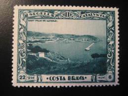 SANT FELIU DE GUIXOLS Republica Era Poster Stamp Label Vignette Viñeta Girona Gerona Catalonia Spain Españ - Spain