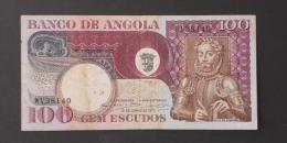 ANGOLA  100  ESCUDOS  1973     -    (Nº02985) - Angola