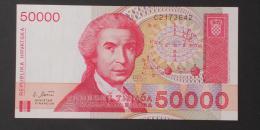 CROATIA  50000  DINARA  1993     -    (Nº02987) - Croatia