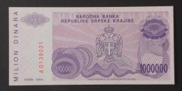 SERVIA  1000000  DINARA  1994     -    (Nº02988) - Croatie