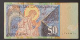 MACEDONIA  50  DENARI  2001     -    (Nº02990) - Angola