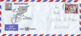 UNO Wien, Feldpost- UN- Truppen, Dienstpost- 1500 UNDOF AUSBATT Golan Hights - Covers & Documents