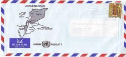 UNO Wien, Feldpost- UN- Truppen, Dienstpost- 1500 UNDOF AUSBATT Golan Hights - Syrie