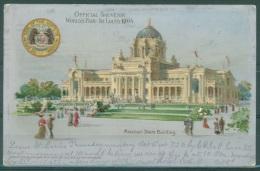 POSTCARD - World's Fair St. Louis, Missouri 1904 State Building - Lot 8457 - St Louis – Missouri