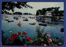 29 COMBRIT STE-MARINE Port Et Embouchure De L'Odet ; Canots, Fleurs - Combrit Ste-Marine