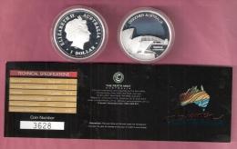 AUSTRALIA $ 1 ZILVER PROOF 2007 DISCOVER AUSTRALIA SYDNEY SCARCE - Monnaies