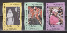 Antigua & Barbuda 1984 Mi. 935-937** MNH - Antigua Und Barbuda (1981-...)