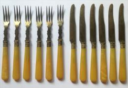 Fourchettes (6) Et Couteaux (6) - Spoons