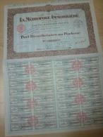 Action La Métropole Immobilière 1938 - Banque & Assurance