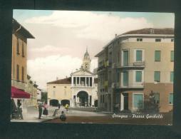CPSM -Italie - SORAGNA - Piazza Garibaldi (animée Ed. Galli Elio ) - Non Classificati