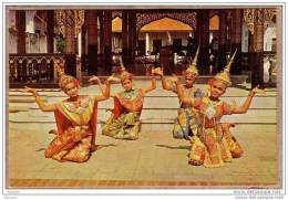 THAILANDE - SIAM - BANGKOK - CPM - 336 - DANSE - DANSEUSES - MAE BOT DANCE - éditeur THAI SILPA - Thailand