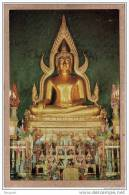 THAILANDE - SIAM - BANGKOK , WAT BENCHAMA BOPHIT - CPM - 654 - STATUE DE BOUDDHA - éditeur PHORN TIP - Thaïlande