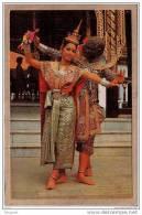 THAILANDE - SIAM - BANGKOK - CPM - 334 - DANSE - DANSEUR ET DANSEUSE - ROJANA-CHAONGOE - éditeur THAI SILPA - Thaïlande
