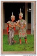 THAILANDE - SIAM - BANGKOK - CPM - 287 - DANSE - DANSEUSES THAI - THAI CLASSICAL DANCE - éditeur GOLDEN PENINSULA ? - Thailand