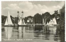 Allemagne :  Frierichshafen  A  B  Seelhafen  Mit  Schloblirche  ( écrite A  Tried ) - Friedrichshafen