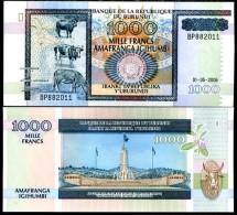 BURUNDI 1000 1,000 FRANCS 2006 P 39 UNC - Ruanda-Urundi