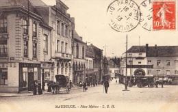 CPA MAUBEUGE 59 - Place Mabuse - Maubeuge