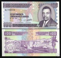 BURUNDI 100 FR.P37 2001 PRINCE RWAGASORE UNC BANK NOTE - Burundi