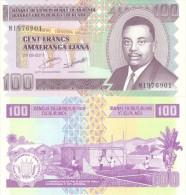 Burundi, 100 Francs, 2011, P-44-New, New Date, New Sig. UNC - Burundi