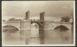 ESTLAND ESTONIA Estonie 1930 Ansichtskarte Tartu Dorpat Stone Bridge Steinbrücke - Estonie