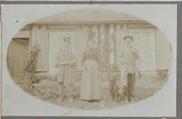 Chasse/Le retour de la Chasse/Normandie/Chasseur avec Li�vre/Paysans Normand/ Vers 1900-1910    PH112