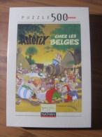 ASTERIX - PUZZLE 500 PIECES - NATHAN - ASTERIX CHEZ LES BELGES - NEUF EMBALLE - Astérix