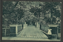 ESTLAND ESTONIA Estonie Ca 1910 Ansichtskarte Tartu Dorpat Engelbrücke Dom - Allee Angel Bridge - Estonie