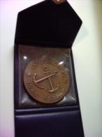 IX  CORSO P.N. 1943  1973 PATRIA E ONORE MARIPO9   MARINA MILITARE   MEDAGLIA BIG MEDAL CON BOX - Altri