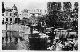DPT 77 MELUN Pont Américain Sur Le Pont De Pierre Août 1944 - Melun