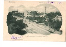 ASIE --VIET-NAM---TONKIN- -HANOI---boulevard Francis-garnier----voir 2 Scans - Viêt-Nam