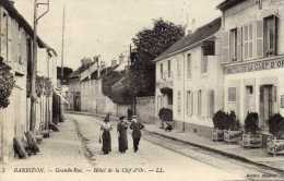 DPT 77 BARBIZON Hotel De La Clef D'Or - Barbizon
