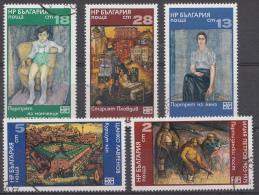 BULGARIEN / BULGARIJE MI.NR.2517-2521 USED / GEBRUIKT / OBLITERE 1975 - Gebraucht