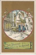 CHROMO  - La Fontaine - Les Femmes Et Le Secret - Trade Cards