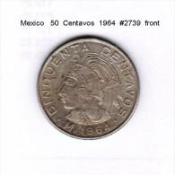 MEXICO   50  CENTAVOS  1964  (KM # 451) - Mexico