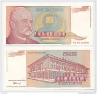 YUGOSLAVIA - JUGOSLAWIEN,  500 000 000 000 Din,1993 UNC *WORLDWIDE TOP DENOMINATION !!! - Yugoslavia