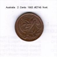 AUSTRALIA   2  CENTS  1983  (KM # 63) - Decimal Coinage (1966-...)