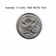 AUSTRALIA   5  CENTS  1999  (KM # 401) - Decimal Coinage (1966-...)