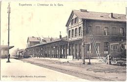 BELGIQUE ERQUELINNES  LA GARE 1910 - Unclassified