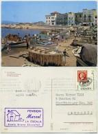 Spain - La Escala - Puerto - Boats - Fishing - Used 1970 - Nice Stamp - Gerona