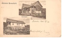 Borszek-Kerteszlak-1906- 2 Scans - Romania
