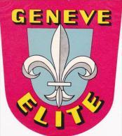 SCHWEIZ GENEVE HOTEL ELITE - Hotel Labels