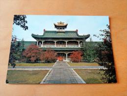 Carte Postale Ancienne : MONGOLIA : Ulan Bator : The Principal Temple , Bogdo-Khan Palace Museum - Mongolie