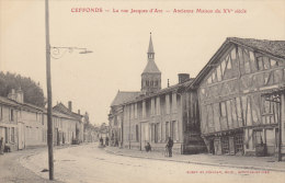 52   CEFFONDS  / LA RUE JEANNE D ARC    /////   REF SEPT 375 - Francia